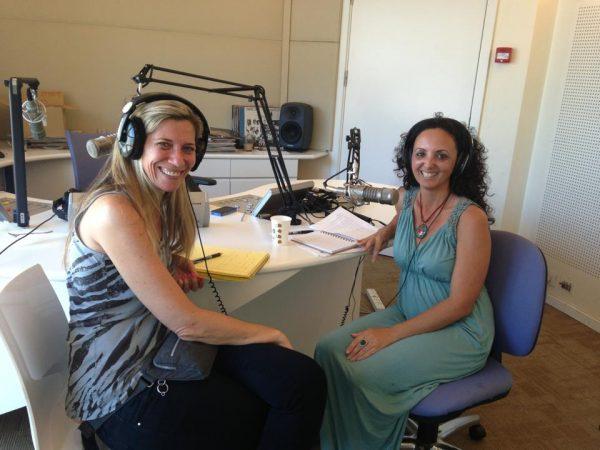 דורית בר בראיון לרדיו